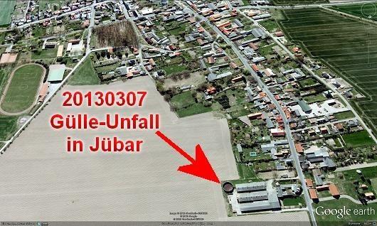 Jübar-Nord via Google-Earth