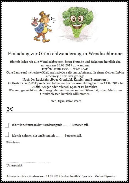 20170226 WB Grünkohlwanderung Einladung