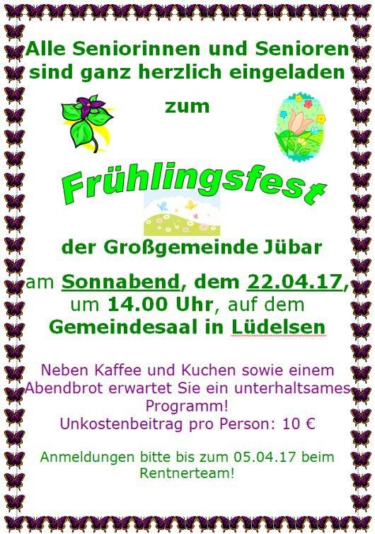 20170422 Gemeinde Senioren Frühlingsfest