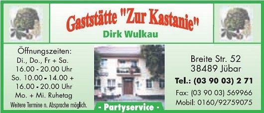 20170719 - Jübar - Visitenkarte 2017 'Zur Kastanie'