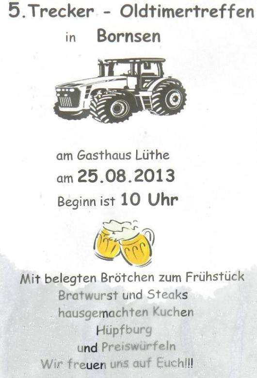 20130825 Bornsen - 5. Trecker- und Oldtimertreffen 2013 -