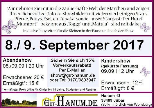 20170908-09 - 'Die Märchenbraut' auf Gut Hanum -