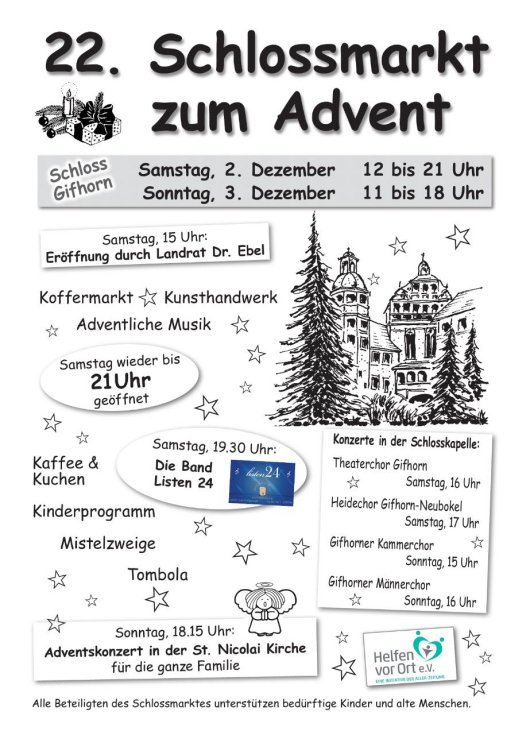 20171202 Listen24 Flyer 'Schloss Gifhorn'