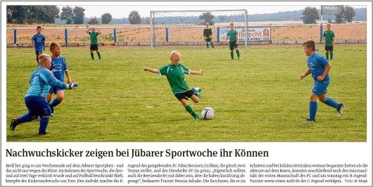 20180806 Volksstimme - Jübar - FCJB - Sportwoche (von Walter Mogh)