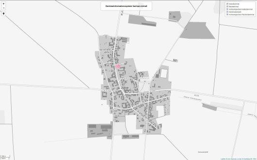 Denkmale in Jübar Übersicht