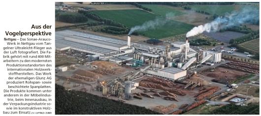 20191001 Altmark Zeitung - Nettgau - Sonae Arauco Holzwerkstoffhersteller (Kai Zuber)