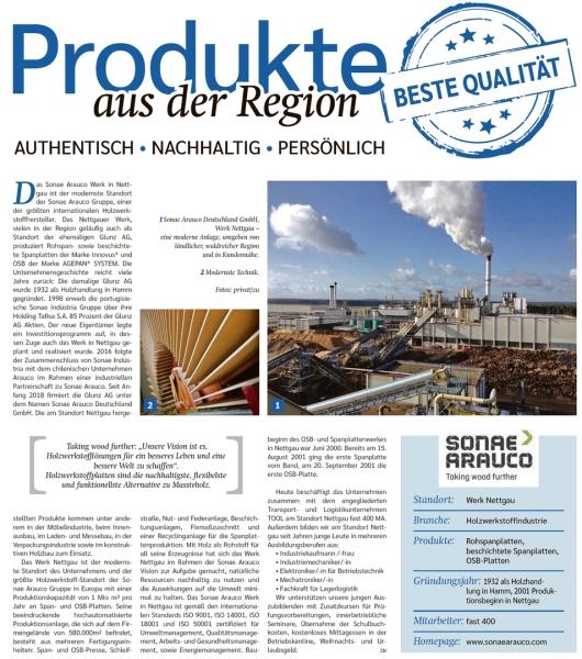 20190906 Altmark Zeitung - Nettgau - Sonae Arauco Holzwerkstoffhersteller (Kai Zuber)