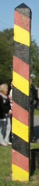 Gladdenstedter Grenzpfahl (steht nicht an Originalplatz)