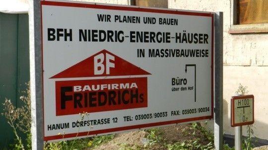 Baufirma Jörg Friedrichs, Hanum