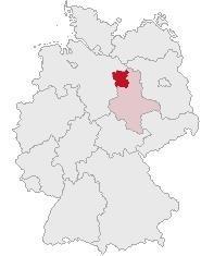 Lage des Altmarkkreises Salzwedel in Deutschland