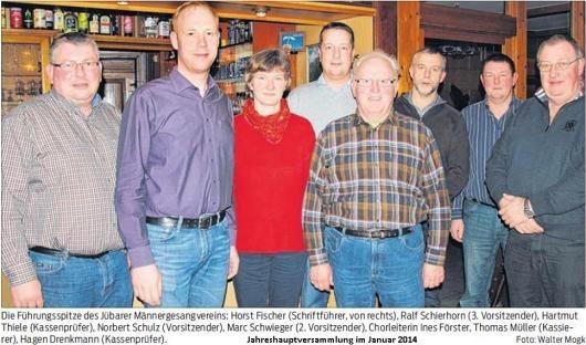 Jahreshauptversammlung wählt neuen Vorstand
