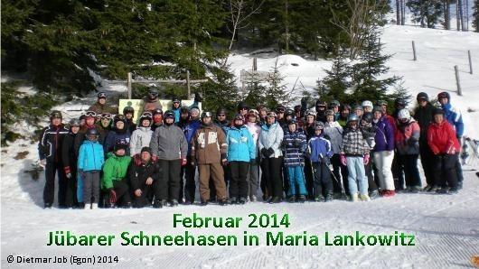 Februar 2014 - Jübarer Schneehasen in Maria Lankowitz