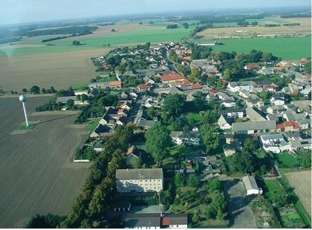 Luftbildaufnahme Jübar