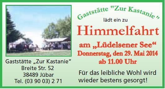 20140529 Himmelfahrt am Lüdelsener See