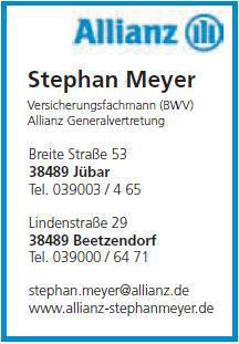 Allianz Stephan Meyer, Jübar