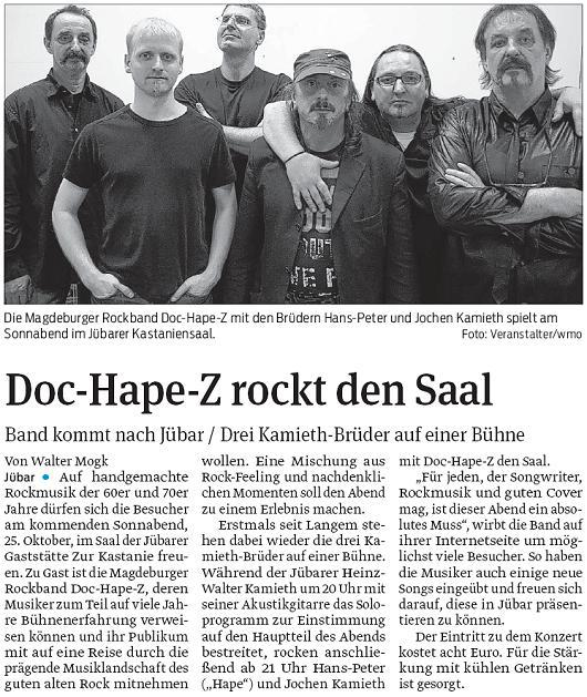 20141025 Doc-Hape-Z rockt den Saal in der Kastanie