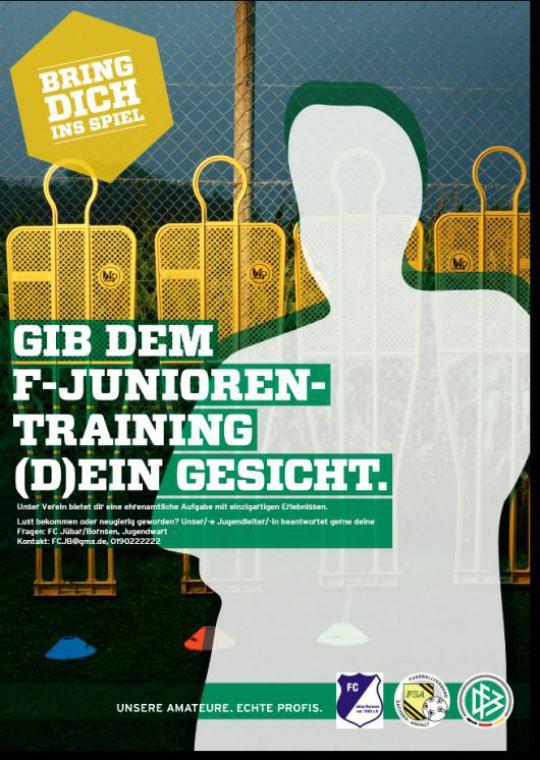 - Jübar - FCJB - F - Junioren - Trainer gesucht! -