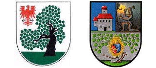Wappen der Gemeinden Jübar und Maria-Lankowitz