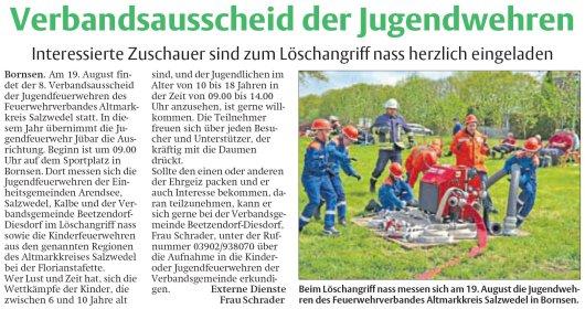20170819 Findling - Bornsen - Jugendfeuerwehr Verbandsausscheid (von Frau Schrader)
