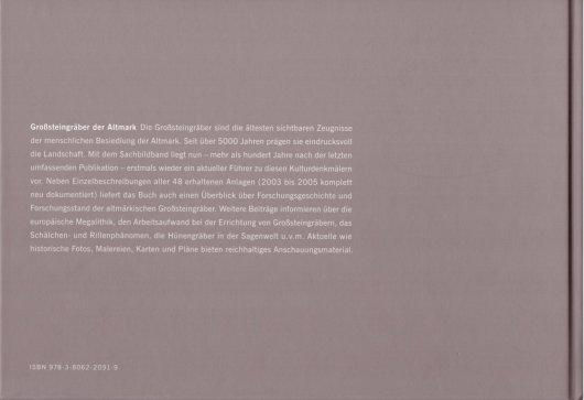 ISBN 978-3-8062-2091-9 Großsteingräber der Altmark - Bock, Fritsch, Mittag