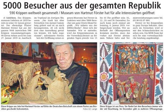 20181213 Altmark Zeitung - Lüdelsen - 5000 Besucher aus der gesamten Republik (von Rüdiger Lange)