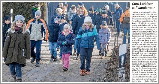 20190225 Volksstimme - Lüdelsen - Ganz Lüdelsen auf Tour (von Walter Mogk)