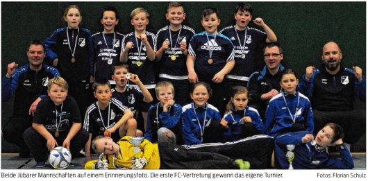 20190227 Volksstimme - Jübar - FCJB - Erinnerungsfoto der E-Junioren des FC Jübar-Bornsen (von Florian Schulz)