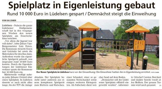 20190621 Altmark Zeitung - Lüdelsen - 10.000,- € durch Eigenleistung gespart (Kai Zuber)