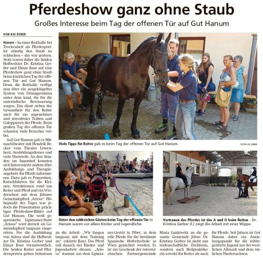20190905 Altmark Zeitung - Hanum - Tag der offenen Tür auf Gut Hanum (Kai Zuber)