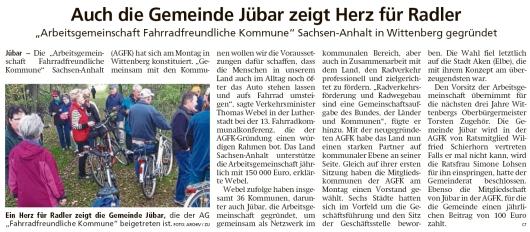 20191113 Altmark Zeitung - Gemeinde - AGFK - Wilfried Schierhorn und Simone Lohsen (Christian Reuter)