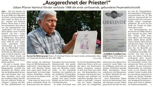 20191129 Altmark Zeitung - Jübar - Hartmut Förster erstellte die FFW-Chronik 1988 (Kai Zuber)