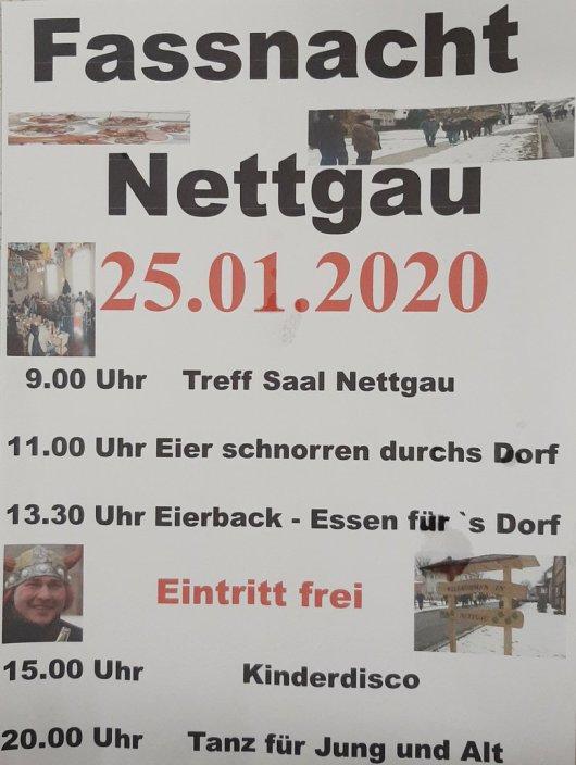 20200104 Nettgau - Fasslom - Einladung zum 25.01.2020