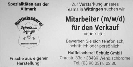 20200114 Isenhagener Kreisblatt - Wendischbrome - Hoffleischerei sucht Mitarbeiter