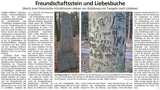 20200122 Altmark Zeitung - Groß Wismar - Historische Attraktionen am Wegesrand (Kai Zuber)