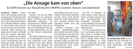 20191231 Isenhagenenr Kreisblatt - Zasenbecker DGH Ausstellung (Holger Boden)