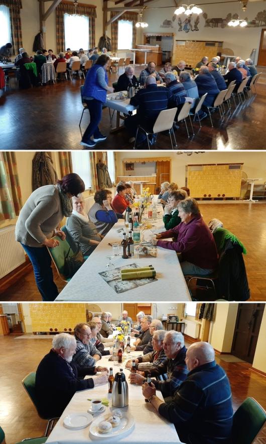 20200129 Nettgau - Seniorentreff mit Pfannkuchen (Berlinern) und Wiener Würstchen im Dorfgemeinschaftssaal