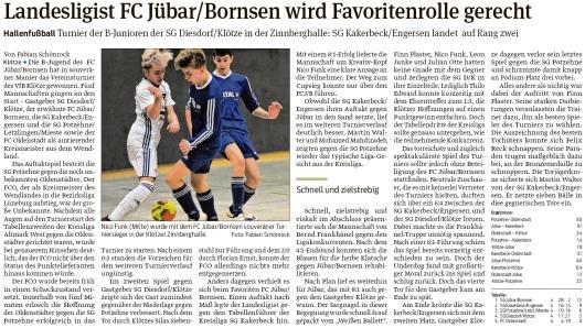 20200207 Volksstimme - Jübar - FCJB - B-Jugend gewinnt souverän Tournier (Fabian Schönrock)