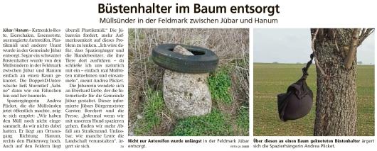 20200213 Altmark Zeitung - Jübar-Hanum - Sturmtief Sabine blies die Unterwäsche in den Baum (Kai Zuber)