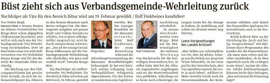 20200215 Volksstimme - Jübar-Hanum - FFW Wahlen stehen an (Walter Mogk)