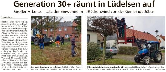 20200217 Altmark Zeitung - Lüdelsen - Arbeitseinsatz in Subbotniktradition (Kai Zuber)