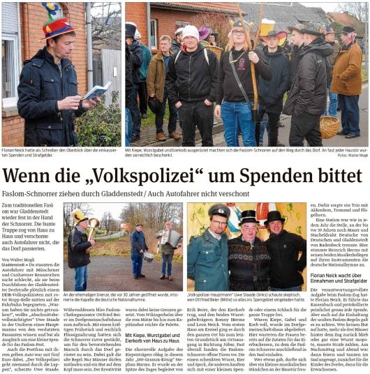 20200219 Volksstimme - Gladdenstedt - Volle Wurstgabel und Eierkiepe (Walter Mogk)