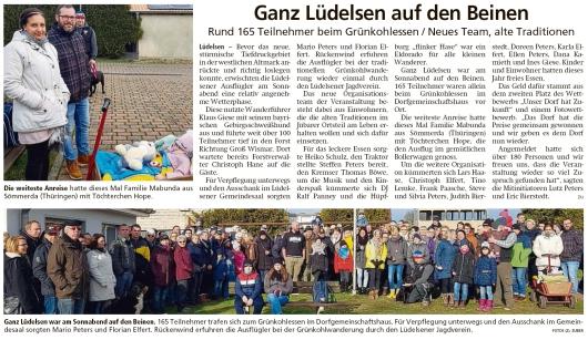 20200224 Altmark Zeitung - Lüdelsen - 165 Teilnehmer beim Grünkohlessen (Kai Zuber)