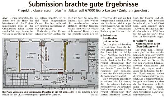 20200622 Altmark Zeitung - Jübar - Klassenraum Plus kostet 67000 € (Kai Zuber)