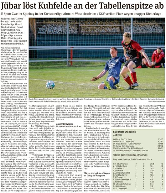 20210222 Volksstimme - Jübar - E-Sport des FC Jübar-Bornsen (Fabian Schönrock)