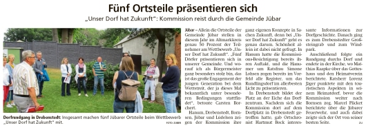 20210625 Altmark Zeitung - Gemeinde - Fünf Jübarer Ortsteile haben Zukunft (Kai Zuber)