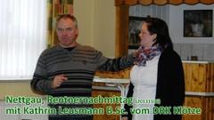 Nettgau, Rentnernachmittag (20131106) mit Kathrin Leusmann B.Sc. vom DRK Klötze